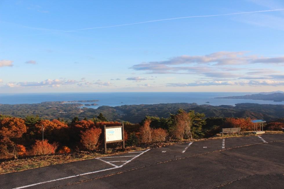 秋の田束山が見頃をむかえました。