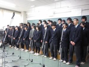 チリと志津川高校の交流が生中継されます!