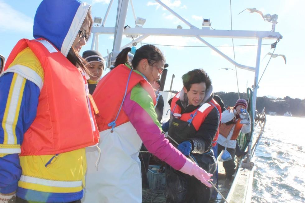 「極上!外洋ワカメ収穫体験」ツアー参加者募集中