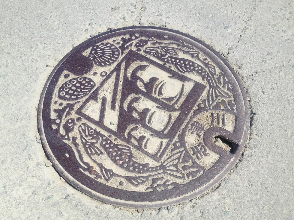 モアイマンホール(志津川)