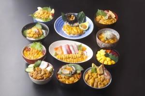 5月1日(木)よりキラキラうに丼の提供が始まります!