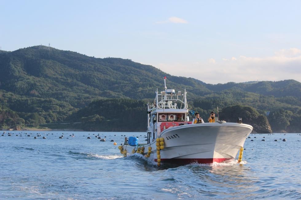 『漁業体験』