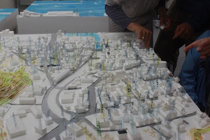 東日本大震災・記憶の模型 ー 失われた街 模型復元プロジェク展開催(神戸市)