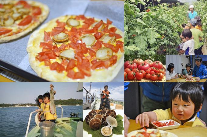 ピザ作りのための食材収穫の旅 〜海の幸、山の幸で春の南三陸を満喫〜