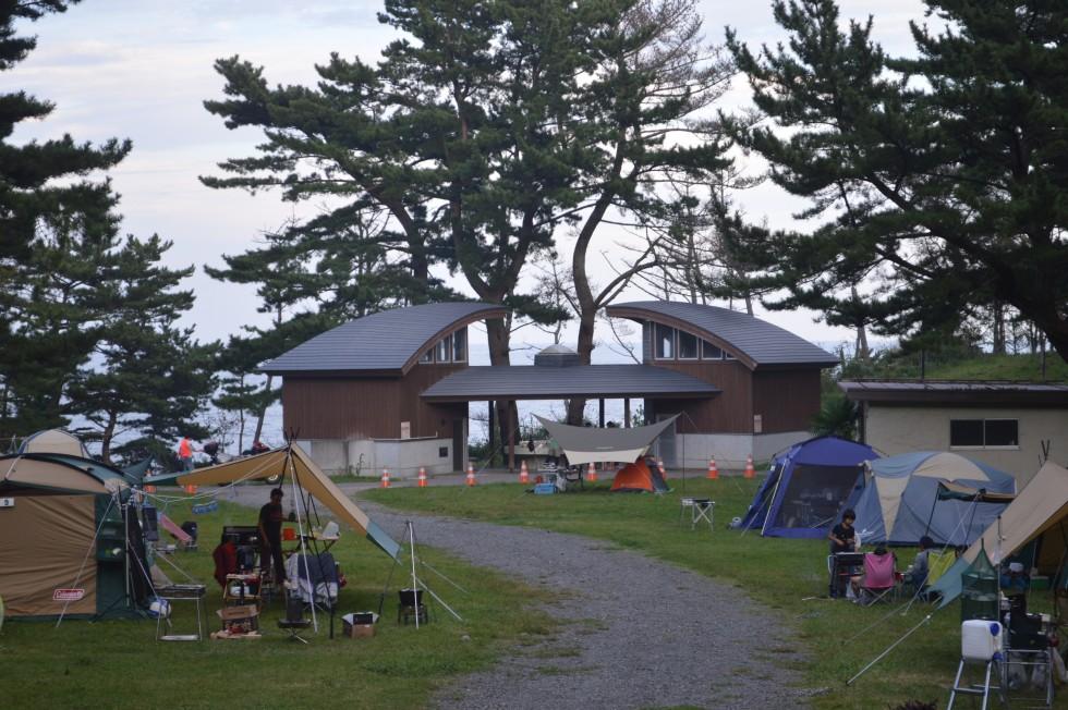 28年度の神割崎キャンプ場の利用が開始!!