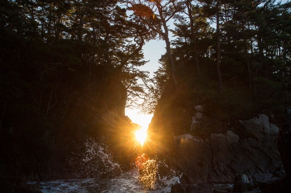 期間限定!!(10月下旬)「神割崎から見る日の出」