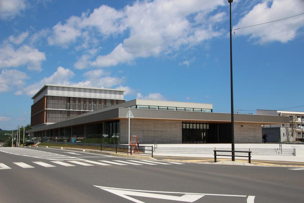 南三陸町役場、ベイサイドアリーナ駅移転のお知らせ