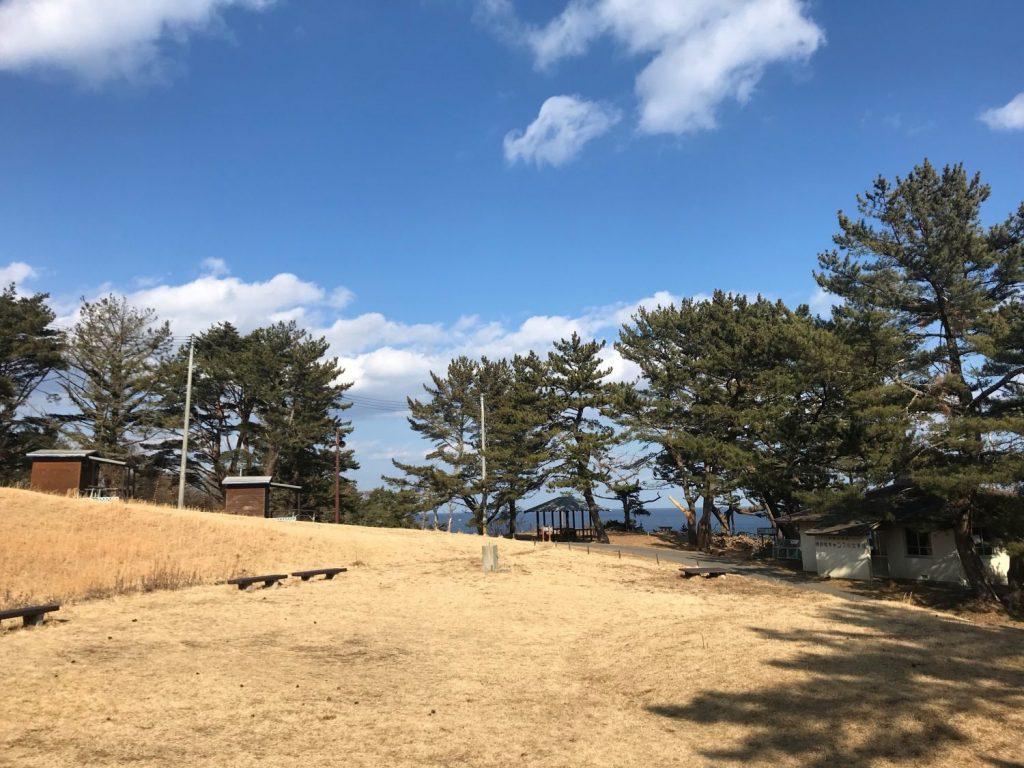 神割崎キャンプ場 4月のオープンに向けて