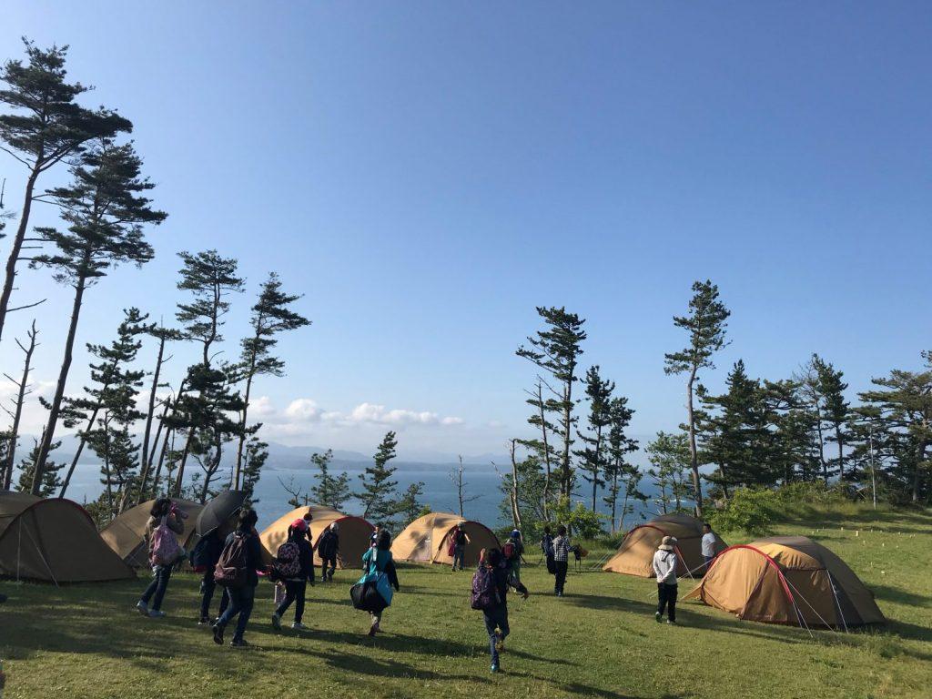 春はキャンプのシーズン!?