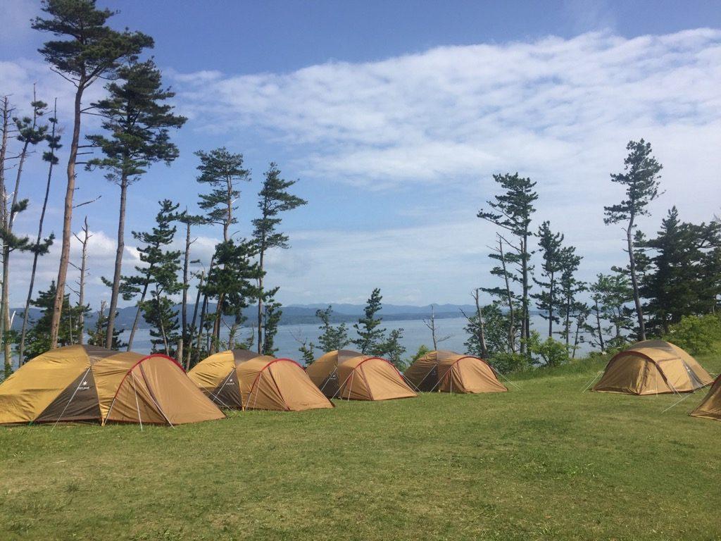 森はともだちプログラム はじめてのテント