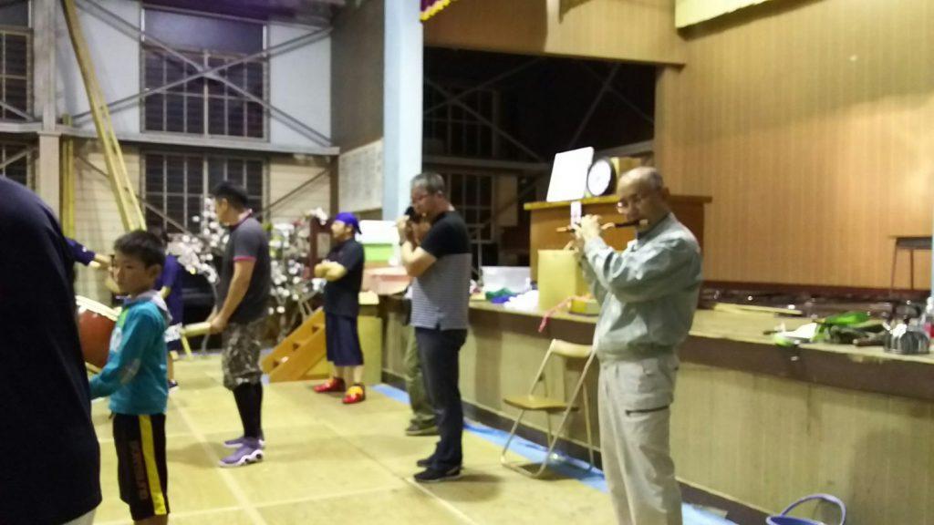 受け継がれる伝統「入谷打囃子」