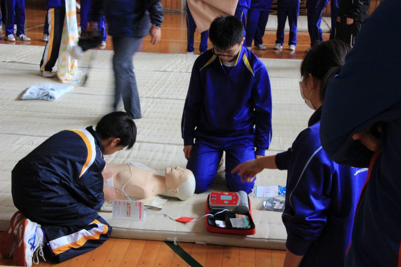 【そなえ】志津川中学校にて避難所運営訓練を実施