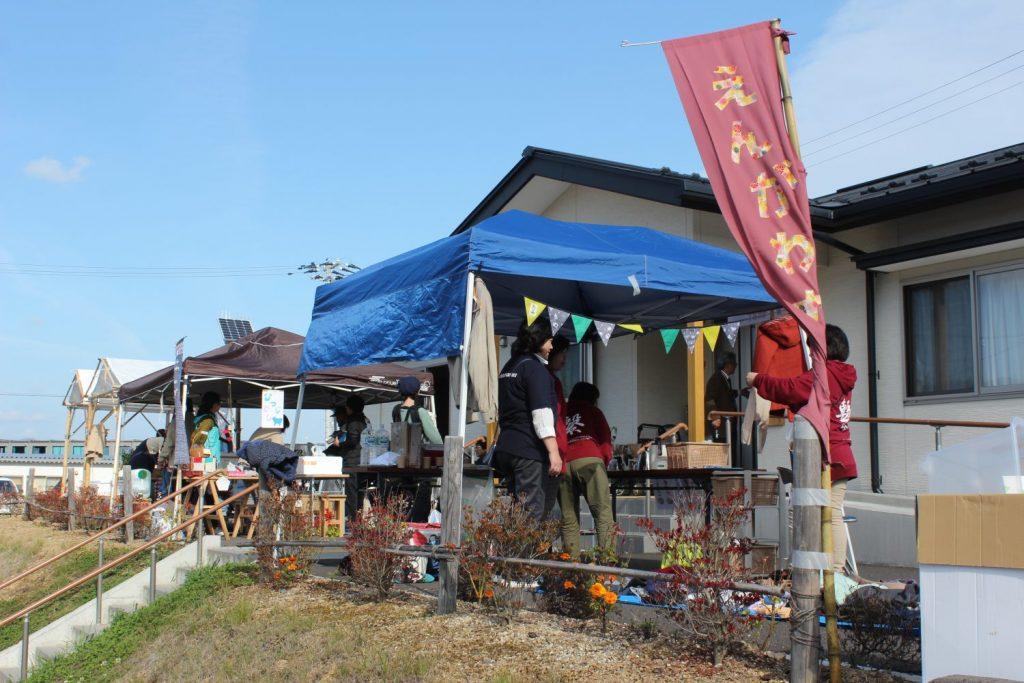 戸倉地区で開催 第1回小さな「たがい市」~大盛況~