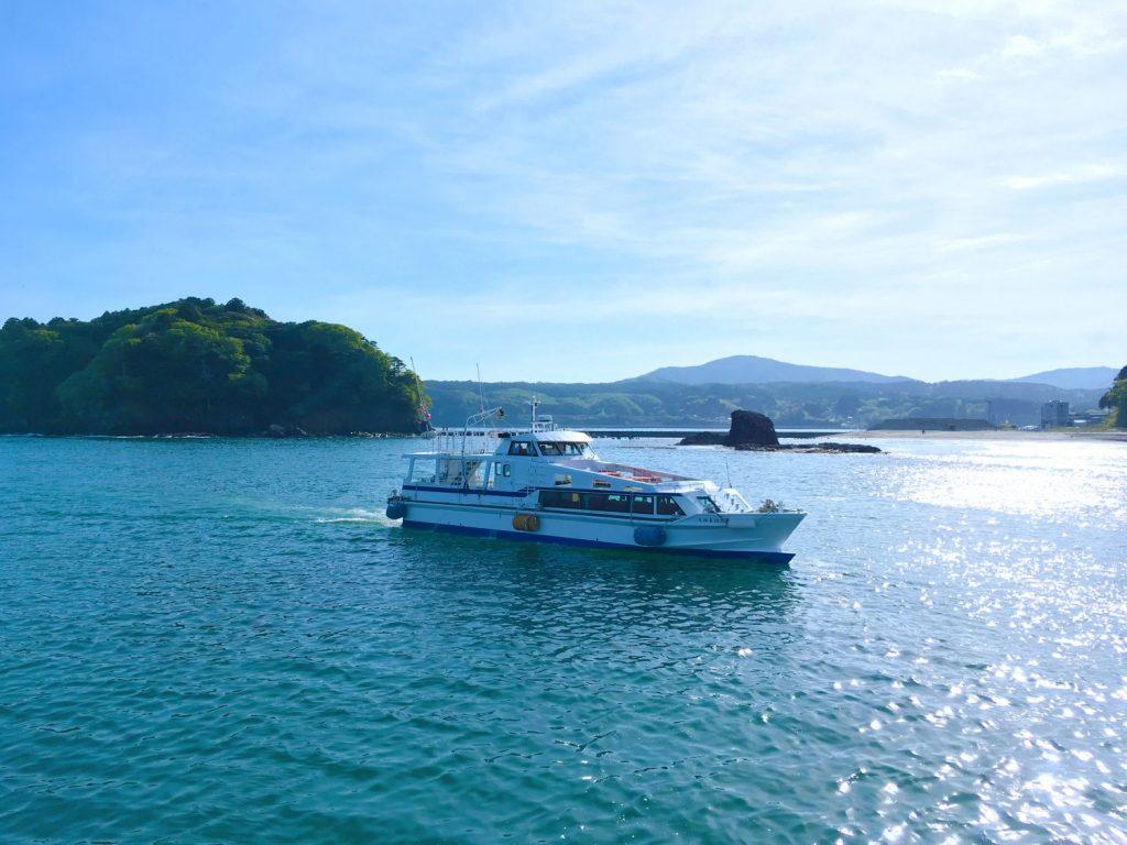 【南三陸福興市と同日開催♪】志津川湾観光船乗船プラン