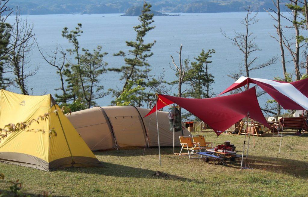 2019年も4月1日から神割崎キャンプ場開始!