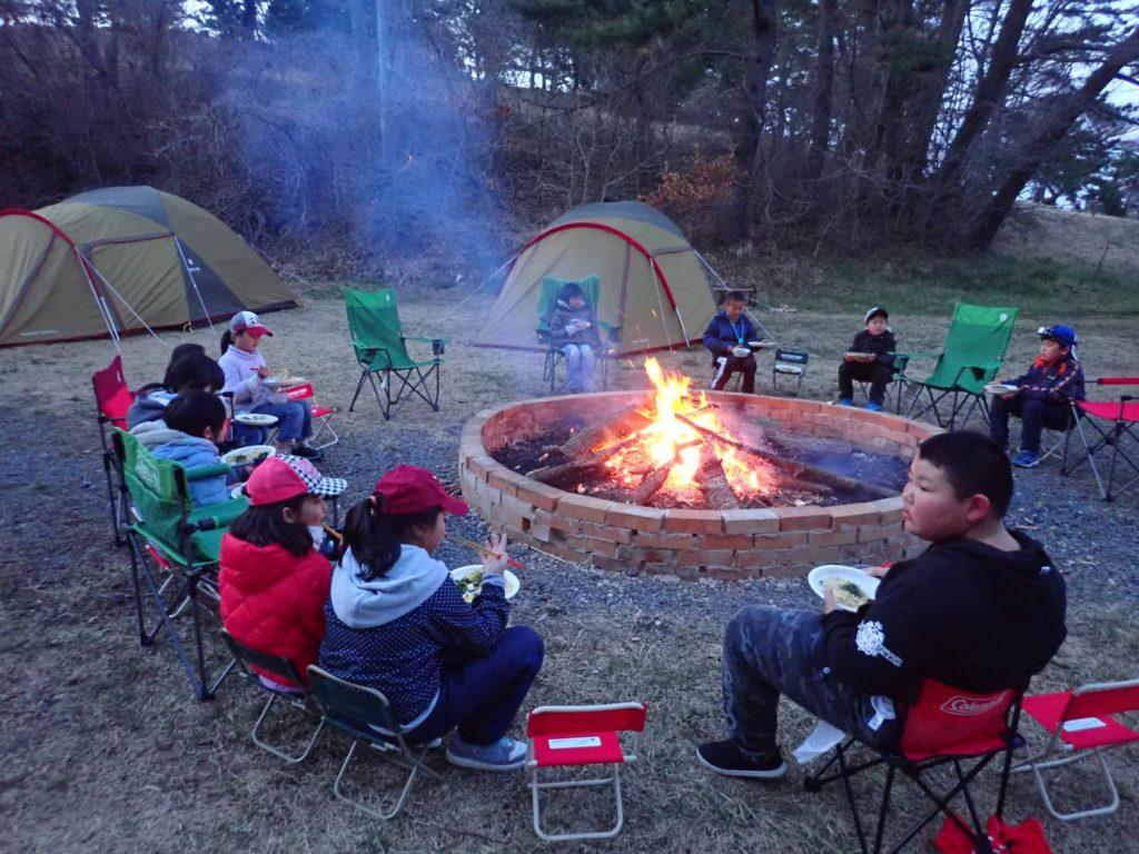子ども春キャンプ