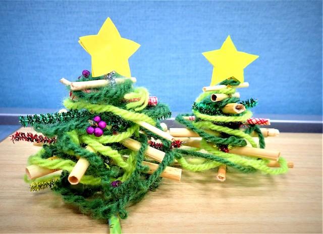 クリスマスネイチャークラフト