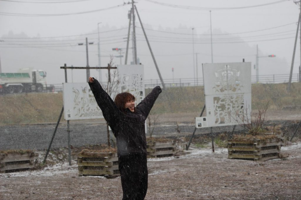 12月は・・・「町内初雪!」「イベント盛りだくさん!!」です。