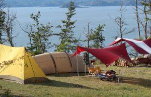 今年の神割崎キャンプ場は3月からオープン!!