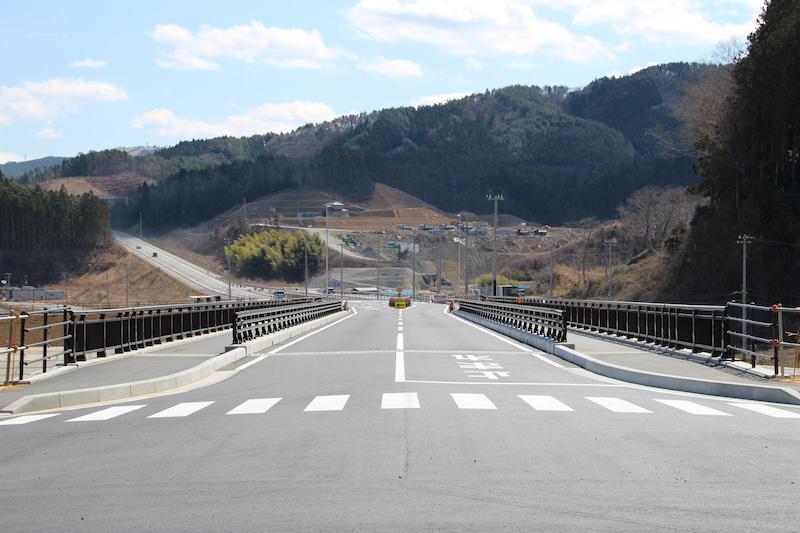 戸倉地区 道路切り替え情報〜折立橋〜