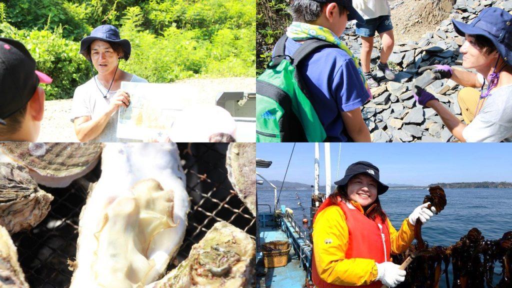 【未来の交流券】歌津で化石発掘!漁業体験再び!