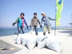 坂本海岸ビーチクリーン