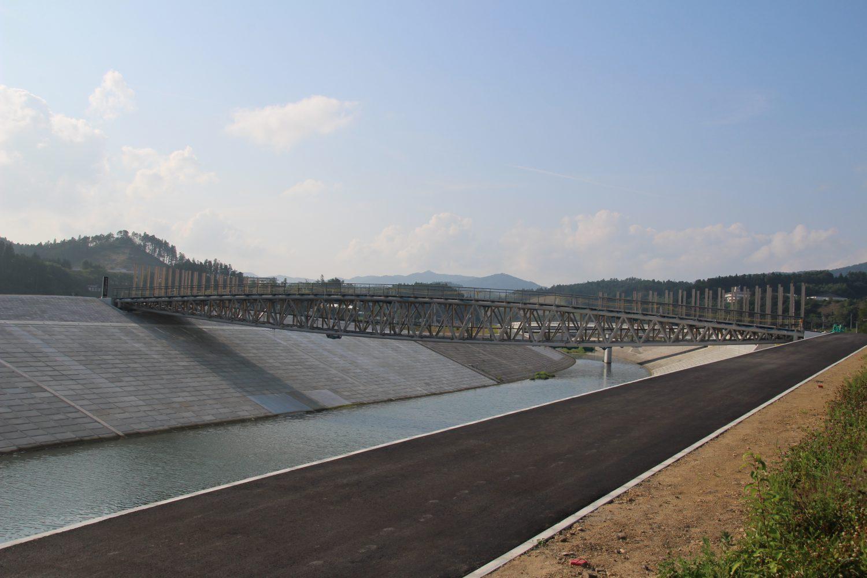 中橋の工事変遷