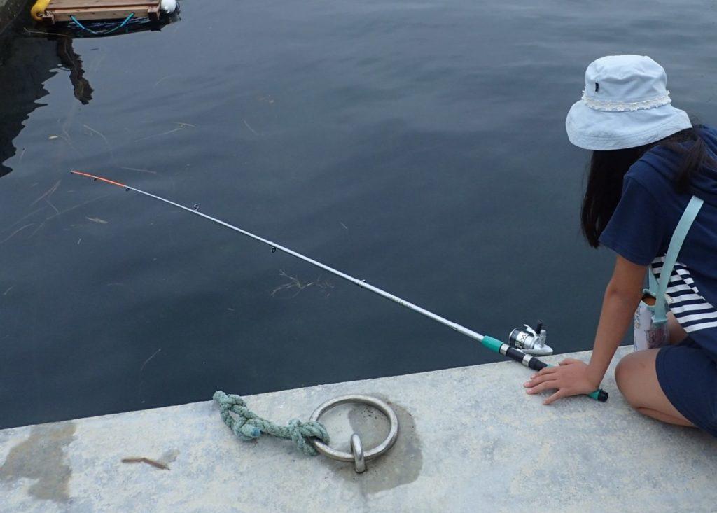 漁師による釣り体験in坂本海岸