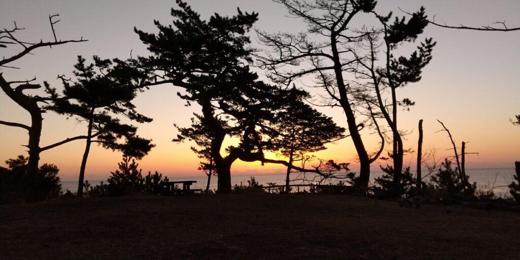 神割崎キャンプ場の魅力を紹介します❗️ ラスト🏁